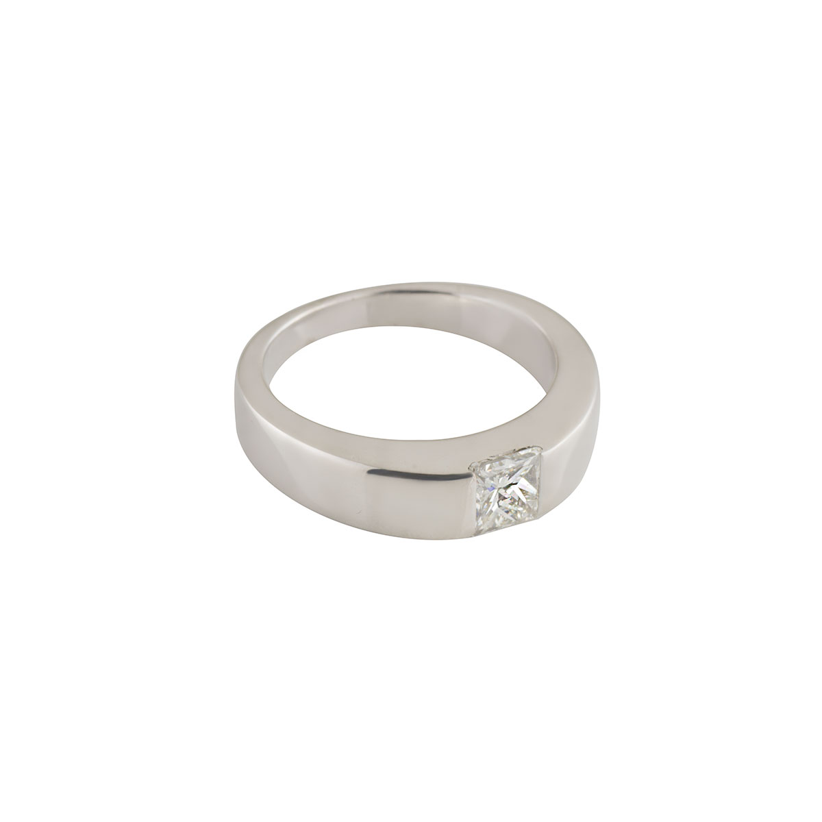 White Gold Diamond Ring 0.35ct H/VS